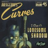 "45Rpm✦ DANGEROUS CURVES ✦""I Cast a Lonesome Shadow""✦Bluegrass/Hillbilly -  Hear♫"